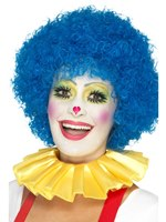 Yellow Clown Neck Ruffle