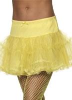 Yellow Tulle Petticoat