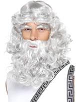 Zeus Wig and Beard