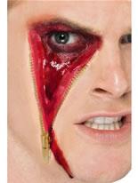 Zip Face Scar