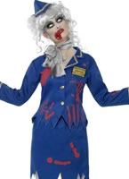 Adult Zombie Air Hostess Costume [23290]
