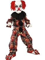 Child Deluxe Zombie Alley Clown Costume