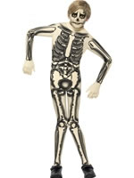 Child Skeleton Second Skin Costume