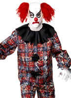 Zombie Alley Clown Costume