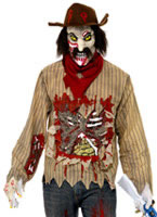 Adult Zombie Cowboy Costume [34124]