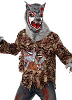 Adult Zombie Alley Werewolf Costume
