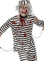 Adult Zombie Convict Male Costume