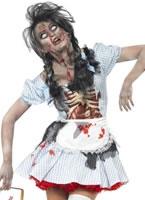 Adult Zombie Dorothy Costume [21579]