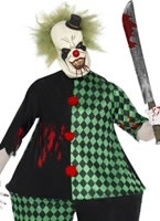 Adult Zombie Fat Clown Costume [21576]