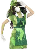 Adult Biohazard Lab Nurse Costume [40055]