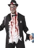 Adult Zombie Gangster Costume [31910]