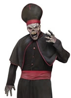 Mens Zombie High Priest Costume [131164]