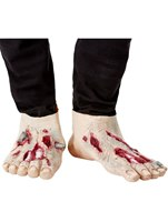 Zombie Latex Shoe Covers [52038]