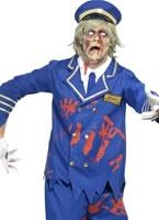 Adult Zombie Pilot Costume