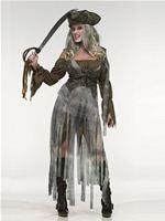 Adult Zombie Pirate Costume [122474]
