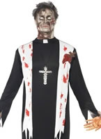Adult Zombie Priest Costume