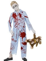 Child Zombie Pyjama Boy Costume