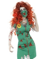 Adult Zombie Scrub Nurse Costume