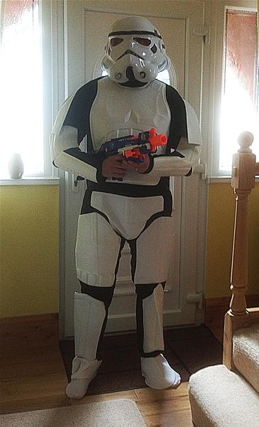 Adult Deluxe Stormtrooper Star Wars Costume 888572