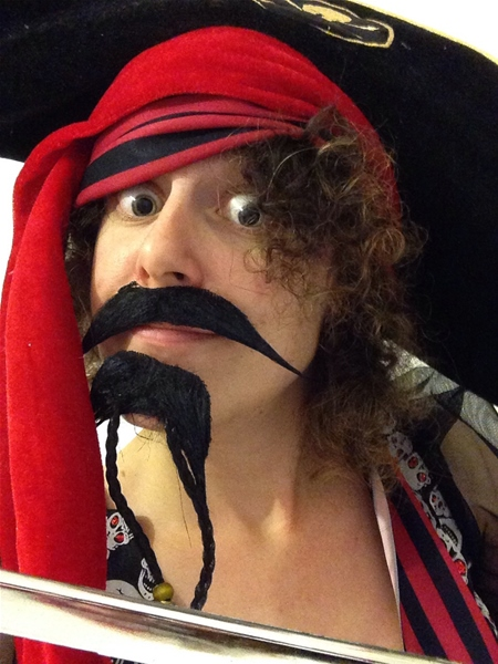 Pirate Facial Hair Set 30123 Fancy Dress Ball
