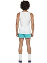 Adult 118 118 Male Runner Costume  - Back View - Thumbnail