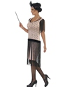 Adult 1920's Coco Flapper Costume  - Back View - Thumbnail