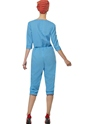 Adult 1940s Factory Girl Costume  - Side View - Thumbnail