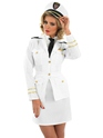 Adult 1940s Lady Naval Officer Costume Thumbnail
