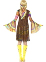 Adult 1960's Groovy Lady Costume  - Side View - Thumbnail