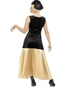 Adult 20's Gatsby Girl Costume  - Side View - Thumbnail