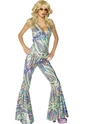 Adult Dancing Queen Catsuit Costume  - Back View - Thumbnail