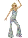 Adult Dancing Queen Catsuit Costume Thumbnail