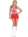 Adult 60's Cheeky Brit Costume Thumbnail
