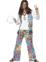 Adult 60 Mens Hippie Costume Thumbnail