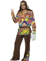 Adult 60's Psychedelic Hippy Costume Thumbnail