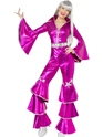 70's Dancing Queen Jumpsuit Pink
