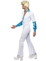 Adult 70s Disco Man Costume  - Back View - Thumbnail