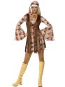 Adult 70's Hippie Fringed Costume Thumbnail