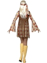 Adult 70's Hippie Fringed Costume  - Side View - Thumbnail
