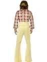 Adult 1970's Mens Disco Costume  - Side View - Thumbnail