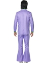 Adult 70's Mens Lavender Suit Costume  - Side View - Thumbnail