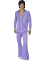 Adult 70's Mens Lavender Suit Costume Thumbnail