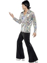Adult 70's Mens Retro Costume  - Side View - Thumbnail
