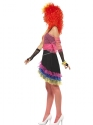 Adult 80s Fun Girl Costume  - Back View - Thumbnail