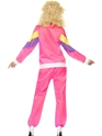 Adult 80's Height of Fashion Shell Suit Costume  - Side View - Thumbnail