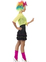 Adult 80's Pop Tart Costume  - Back View - Thumbnail