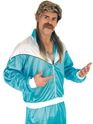 Adult 80's Shell Suit Costume  - Back View - Thumbnail