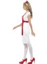 Adult A & E Nurse Costume  - Back View - Thumbnail
