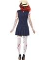Adult Zombie College Student Costume  - Side View - Thumbnail