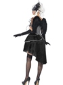 Adult Dark Angel Masquerade Costume  - Side View - Thumbnail